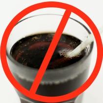 Drop the soda!