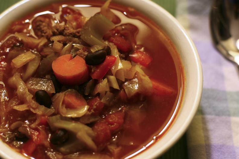 Cabbage-Vegetable Soup Recipes — Dishmaps