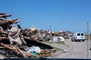 Moore, OK tornado damage